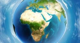 World atmosphere day globe